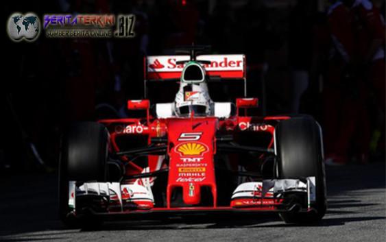 Rio Catat Waktu Terbaiknya, Vettel Tercepat