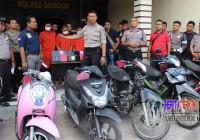 Beraksi di 17 Lokasi, Pencuri Motor Ini Ditangkap di Samosir