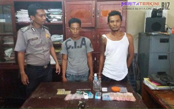 2 Orang Pengedar Sabu Dibekuk di Rokan Hilir Riau