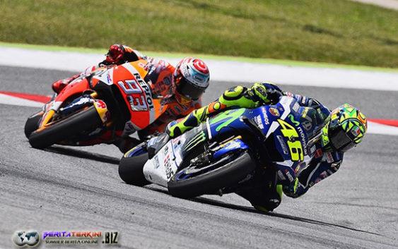 Rossi Sangat Senang Telah Finis di Depan Marc Marquez