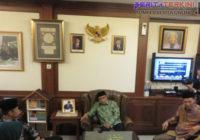 Sambut Agus dan Sylvi di Kantornya, Said Agil Puji Kepemimpinan SBY
