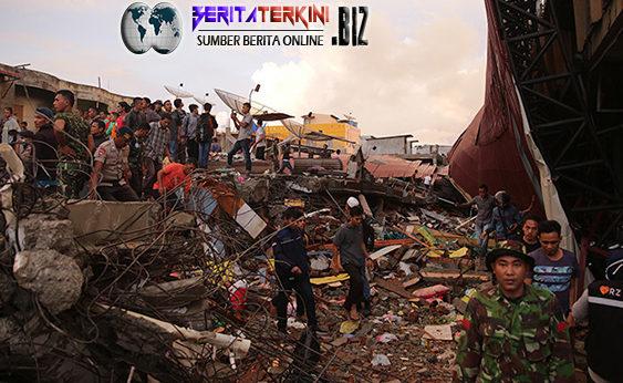 Tercatat 64 Masjid, 157 Komplek, dan 11.688 Rumah Hancur Akibat Gempa Pidie Jaya