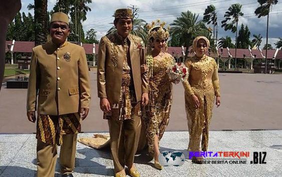 Selamat, Lucky Hakim Dan Tiara Dewi Resmi Menjadi Suami Istri!