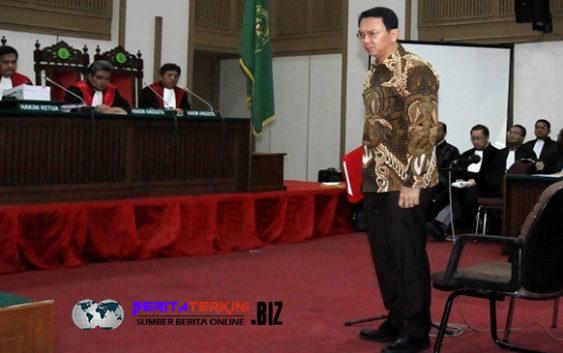 Tiga Saksi Dari JPU Tak Datang, Sidang Ahok DI Tunda Sampai Pekan Depan