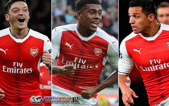 Harapan Iwobi Jika Sosok Ozil Dan Sanchez Selalu Bertahan Di Arsenal