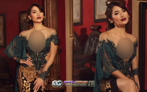 Kebaya Seksi Maria Selena Membuat Netizen Gagal Fokus