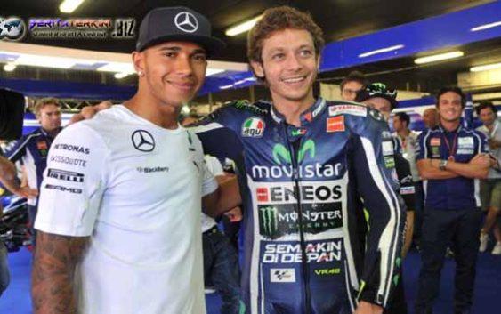 Keinginan Terpendam Hamilton Yang Tertarik Mengikuti Balapan MotoGP