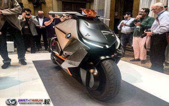BMW Motorrad Akan Produksi Skuter Listrik Bongsor ?