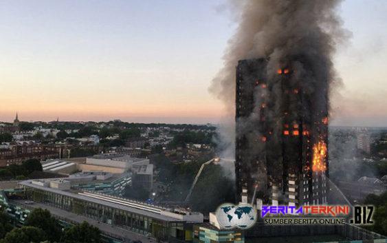 Akibat Kebakaran Apartemen London Menewaskan 6 Orang
