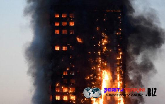 Korban Kebakaran Apartemen London Semakin Meningkat