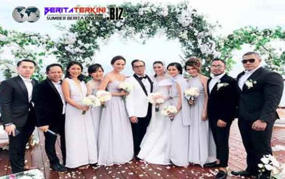 Pasangan Sammy Simorangkir dan Viviane Sekarang Resmi Menyandang Status Sebagai Suami-Istri