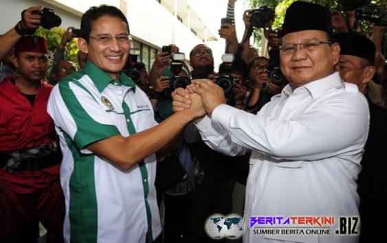 Prabowo Memberikan Pesan Kepada Sandiaga, Bagaimana Isi Pesan Tersebut