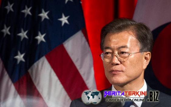 Presiden Korsel Moon Mengatakan Bahwa Trump Akan Mengunjungi Korsel Tahun Ini