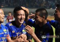Persib Kalahkan Sriwijaya FC di Laga Pembuka Piala Presiden