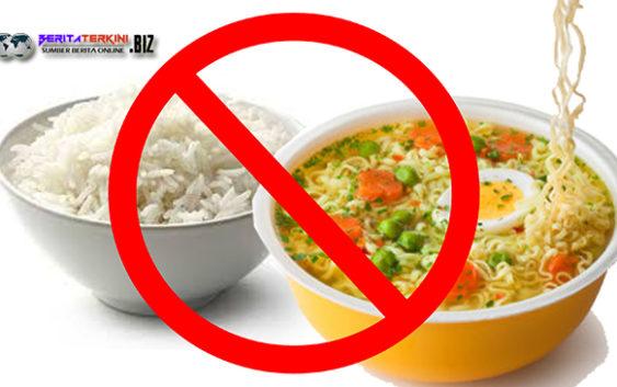 Alasan mengapa mi instan tidak boleh campur nasi