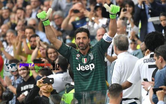 Gianluigi Buffon Jadi Pemain Pertama yang Tembus 650 Penampilan di Liga Italia