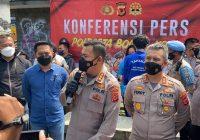 Polisi Gelar Rekontruksi Tewasnya Pelajar Akibat Pembacokan di Bogor